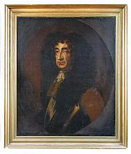English School (17th Century) Portrait of Charles II (1630-1685)