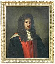 English Provincial School (third quarter of the 17th Century) Portrait of Doctor Cudworth Johnstone, oil on canvas
