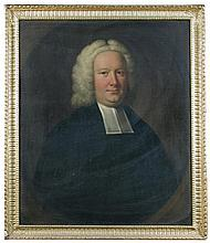Attributed to the Studio of John Theodore Heins, Senior (British, mid 18th Century) Portrait of the Reverend Henry Johnstone