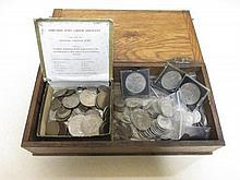 A quantity of 1920-46 silver coinage (parcel) including 50 florins, 30 half crowns, 60 shillings and various modern GB coinage