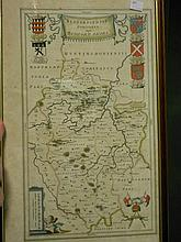 A collection of maps and plans of Bedfordshire and Hertfordshire,