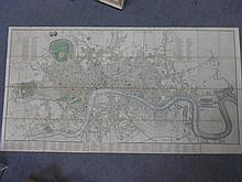 CARY (John) New and Accurate Plan of London and Westminster, the Borough of Southwark and parts Adjacent.., on a Scale of Six inches...