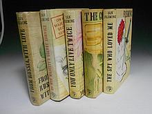 FLEMING (Ian) Five James Bond first editions in dust wrappers: From Russia with Love, 1957; On Her Majesty's Secret Service, 1...