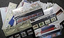 Stamps. Assortment of approximately 50 First Day Covers 1970's and 1980's, and various loose stamps