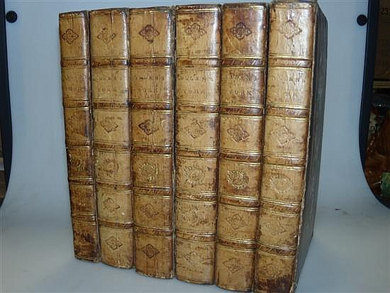 ALLEN (Thomas) and N.WHITTOCK. A New and Complete History of the County of York, 6 vols, 1828-31, 8vo, many plates, some age s...