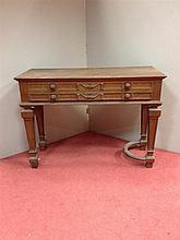 A Victorian oak billiard room score board / cabinet,