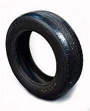 § Gavin Turk (British, b.1967)  - Goodyear Tyre  - signed and dated in gold on the rim