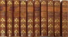 AUSTEN (Jane), Works, Winchester Edition, 1906, 8vo, 10 vols, half calf (lacking some spine labels), first and last leaves typ...