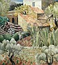 § Billie Waters (British, 1896-1979) Farm in Provence signed lower left