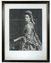 Sir John Everett Millas (British,  1829-1896) - Stella; Vanessa, and Girl with a Muff (3)