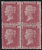 1d plate 108, unmounted mint block of 4 (DA/EB),