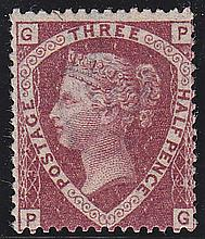 1½d, Plate 3, (PG), unmounted mint,