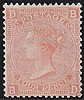 4d, Plate 14, (BD) vermillion, unmounted mint,