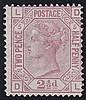 2½d, Plate 5 (DL), rosy mauve, unmounted mint,