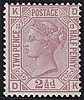 2½d, Plate 13 (DK), rosy mauve, unmounted mint,