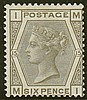 6d, plate 15 (MI), grey, unmounted mint,