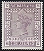 2s6d, (MC), lilac, unmounted mint,