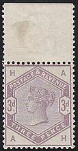 3d, (AH) lilac, unmounted mint,