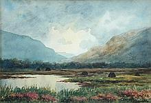 Douglas Alexander (Irish, 1871-1945) Evening, Achill Island signed lower right