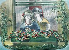 Barnett Freedman, CBE (British, 1901-1958) Window box signed within the print