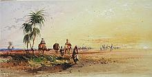 Thomas Hartley Cromek (British, 1809-1873) On the Road to Thebes
