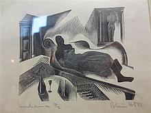 Blair Hughes Stanton (British, 1902- 1981) Mahama signed lower right