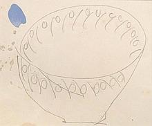 § Duncan Grant (Scottish, 1885-1978) - Design for a Bowl, 1930s