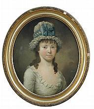 Nathan Theodore Fielding  (1747-1814) - Portrait of Miss Harriet Prestian