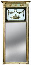 A Regency gilt framed pier glass,