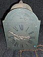 A 19th century lantern type wall clock,