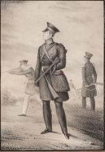 A Russian Lithograph of Alexander I, 19th c