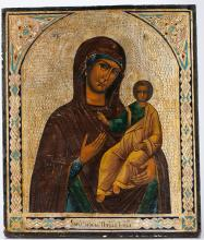 A Russian Icon Mother of God, 19th C.