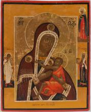 A Russian Icon of Ovseptyetaya Mother of God