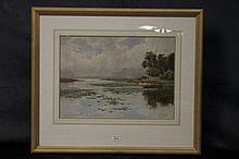 Henry Tebbitt. An original Australian watercolour depicting