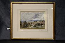 R.A.K. Marshall. An original English watercolour depicting t