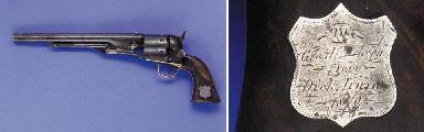 A RARE FACTORY SPECIAL ORDER.44 COLT MODEL 1860 ARMY REVOLVER, NO. 93921 FOR 1863