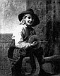 GEORGE HENRY HALL (1825-1913) A YOUNG BOY WITH A DRUM