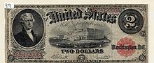 $2 Bill- 1917 Series. Signed Elliott And White.