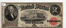 $2 Bill- 1917 Series. Signed Speelman And White.