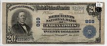$20 Bill- 1902 Series. Signed Lyons And Roberts.