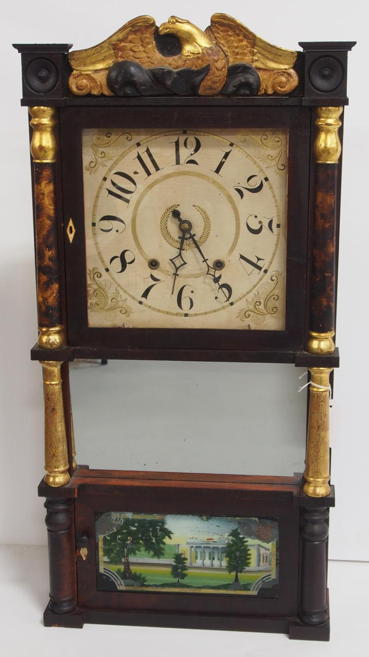 Updated 6 22 Mitchell Amp Atkins Clock With Wooden Works