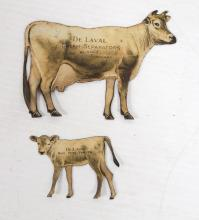 DeLaval Jersey cow & calf set