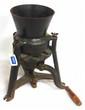 Cast iron Burrel hand crank grinder