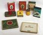 (9) Pocket tobacco tins: Kentucky Club, (2) Prince Albert, (2) Lucky Strike, Chesterfield, Bond Street, Scotch Snuff, Old Gold
