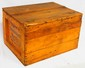 Wooden Mobil Oil box, great stenciling, great condition