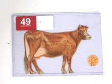 1894 DeLaval Paper Jersey Cow