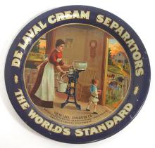 Tin DeLaval Cream Separators Tip Tray