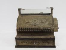 Large Brass National Cash Register