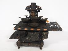 Child's Royal Kitchen Stove with Accessories