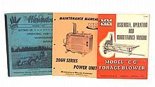 (3) Minneapolis Moline manuals